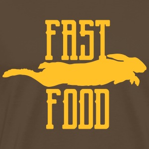 fast food Tee shirts - T-shirt Premium Homme
