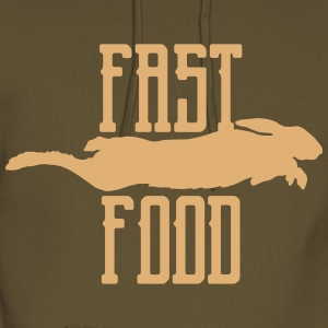fast food Hoodies & Sweatshirts - Men's Premium Hoodie