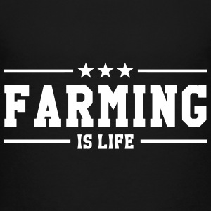Farming is life Tee shirts - T-shirt Premium Ado