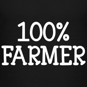 100% Farmer Shirts - Teenager Premium T-shirt