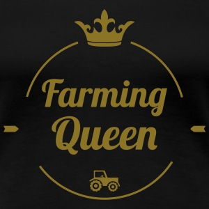 Farming Queen T-Shirts - Women's Premium T-Shirt