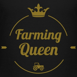 Farming Queen T-Shirts - Teenager Premium T-Shirt