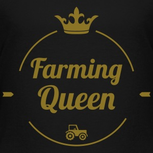Farming Queen Shirts - Kids' Premium T-Shirt