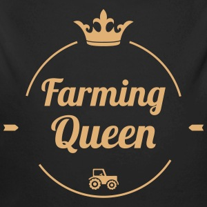 Farming Queen Pullover & Hoodies - Baby Bio-Langarm-Body