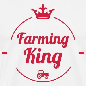 Farming King T-skjorter - Premium T-skjorte for menn