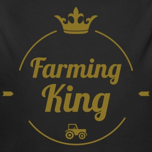 Farming King Pullover & Hoodies - Baby Bio-Langarm-Body