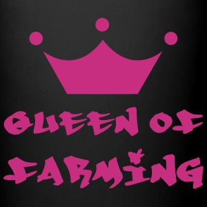 Queen of Farming Flasker & krus - Ensfarvet krus