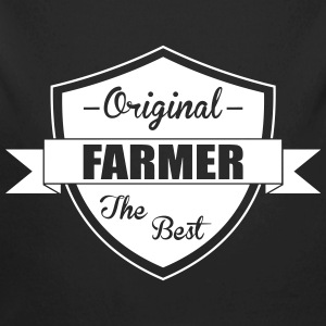 The Best Farmer Hoodies - Longlseeve Baby Bodysuit