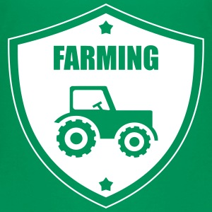 Farming Shirts - Teenage Premium T-Shirt