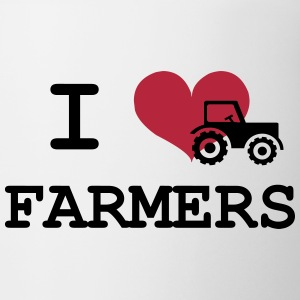 I Love Farmers Flasker & krus - Kop/krus