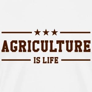 Agriculture is life T-shirts - Mannen Premium T-shirt