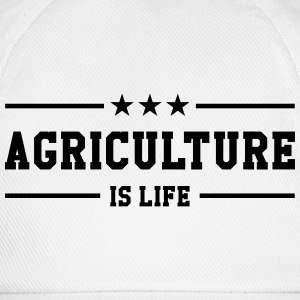 Agriculture is life Caps & Hats - Baseball Cap
