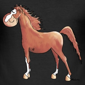 Grappig Arabier - Paard T-shirts - slim fit T-shirt