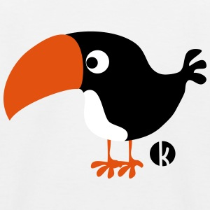 Toucan Skjorter - Baseball-T-skjorte for barn