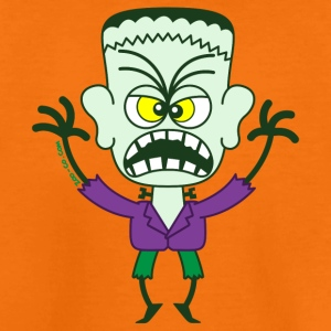 Scary Halloween Frankenstein Shirts - Kids' Premium T-Shirt