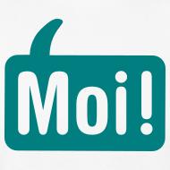 Ontwerp ~ Mannen Moishirt Wit/groen