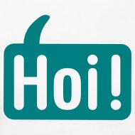 Ontwerp ~ Hoi Shirt Wit/Groen