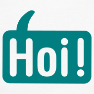 Ontwerp ~ Vrouwen Hoi Shirt Wit/Groen