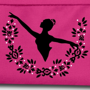 A ballerina and a wreath of leaves  Bags & Backpacks - Kids' Backpack