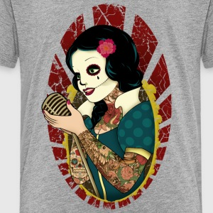 Rockabilly, Rock, Pinup, Rock n Roll, Rockabella,  - Kinder Premium T-Shirt