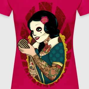 Rockabilly, Rock, Pinup, Rock n Roll, Rockabella,  - Frauen Premium T-Shirt