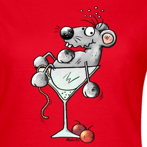Funny Coctail Mouse T-Shirts - Women's T-Shirt