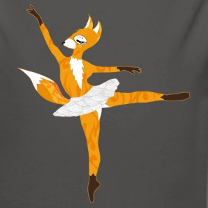 A fox in ballet dress  Hoodies - Longlseeve Baby Bodysuit