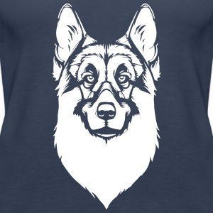 German Shepherd Tops - Women's Premium Tank Top