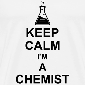 keep_calm_i'm_a_chemist_g1 T-Shirts - Men's Premium T-Shirt