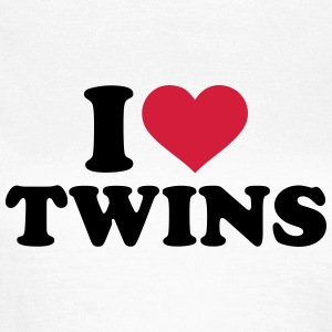 I love twins T-Shirts - Frauen T-Shirt
