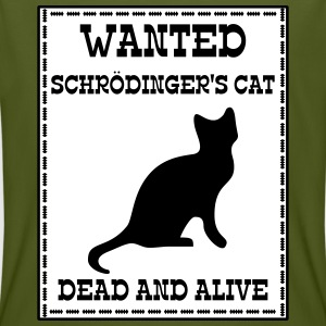 Wanted Schrödinger's Cat - Dead And Alive T-skjorter - Økologisk T-skjorte for menn