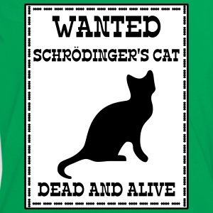 Wanted Schrödinger's Cat - Dead And Alive T-Shirts - Frauen Kontrast-T-Shirt