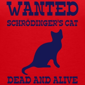 Wanted Schrödinger's Cat - Dead And Alive Tee shirts - T-shirt col V Femme