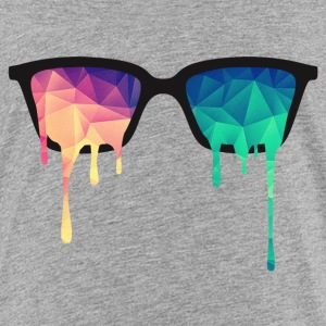 Abstract Psychedelic Nerd Glasses with Color Drops Shirts - Kids' Premium T-Shirt