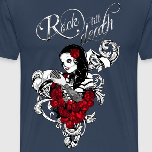 Rockabilly, Rock, Pinup, Rock n Roll, Rockabella,  - Männer Premium T-Shirt