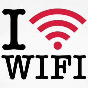 I Love WIFI T-Shirts - Frauen T-Shirt