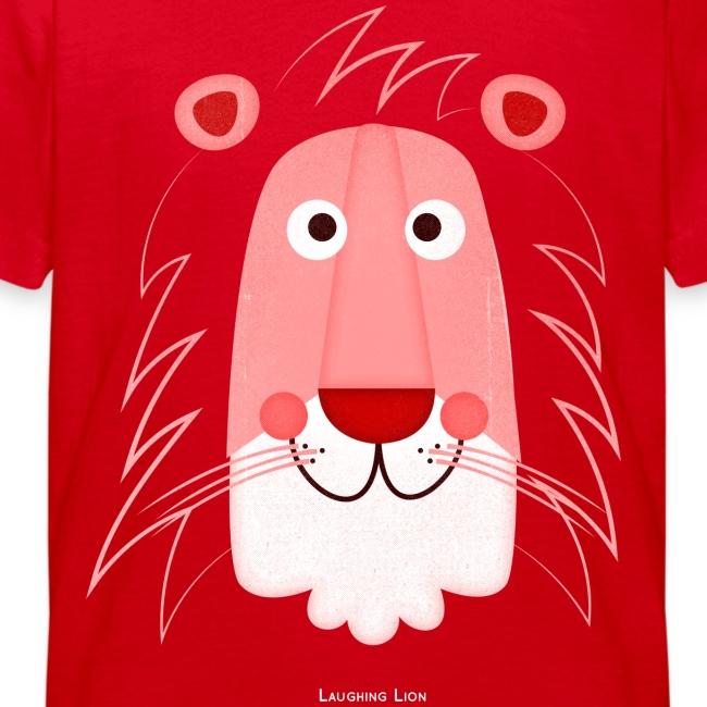 Lion Face Kids T