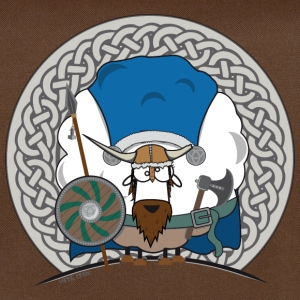 Sheep Marry Viking Edition - Schaf Marry Wikinger - Umhängetasche