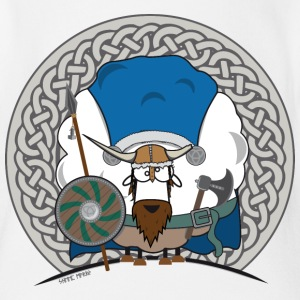 Sheep Marry Viking Edition - Schaf Marry Wikinger - Baby Bio-Kurzarm-Body