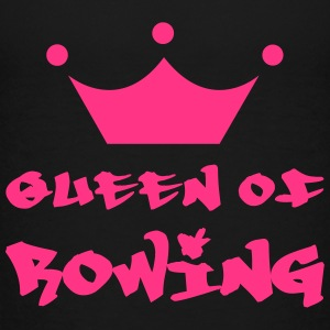 Queen of Rowing T-shirts - Børne premium T-shirt