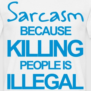 Sarcasm Tee shirts - T-shirt Homme