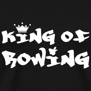 King of Rowing T-skjorter - Premium T-skjorte for menn