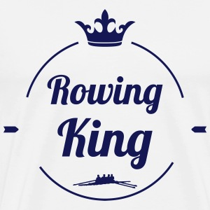Rowing King T-shirts - Mannen Premium T-shirt