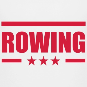 Rowing T-shirts - Teenager premium T-shirt