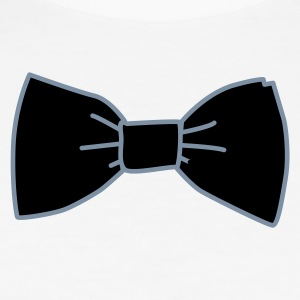 Wit Bowtie, Strip T-Shirts - slim fit T-shirt