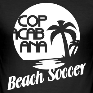 BEACH SOCCER @ COPACABANA - Herre Slim Fit T-Shirt