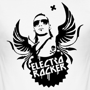 Electro Rocker - Männer Slim Fit T-Shirt