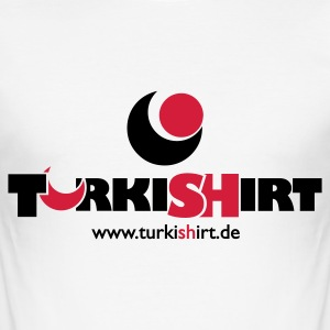 Weiß turkishirt T-Shirt - Männer Slim Fit T-Shirt