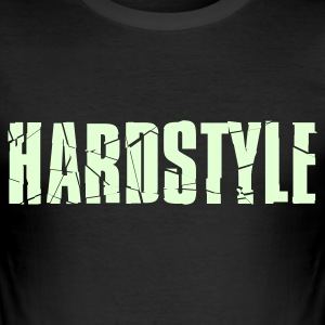 Hardstyle, glow in the dark - slim fit T-shirt