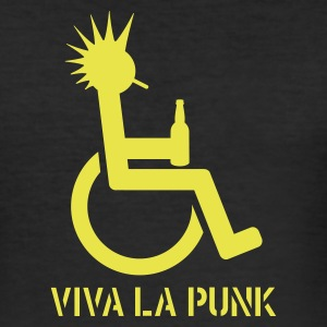 VIVA LA PUNK - Männer Slim Fit T-Shirt
